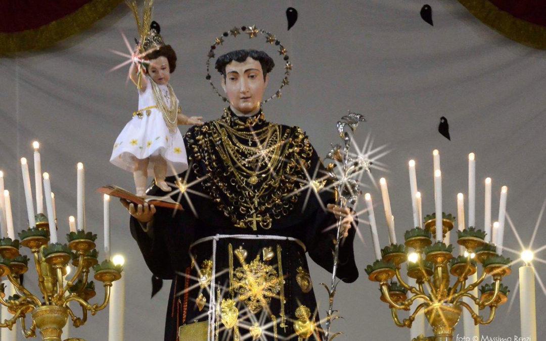 12 giugno: esposizione della statua di Sant'Antonio.